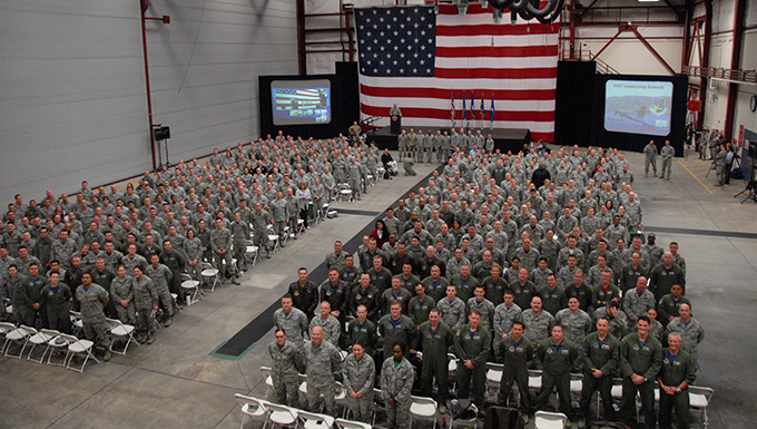 152nd Airlift Wing holds first Leadership Summit