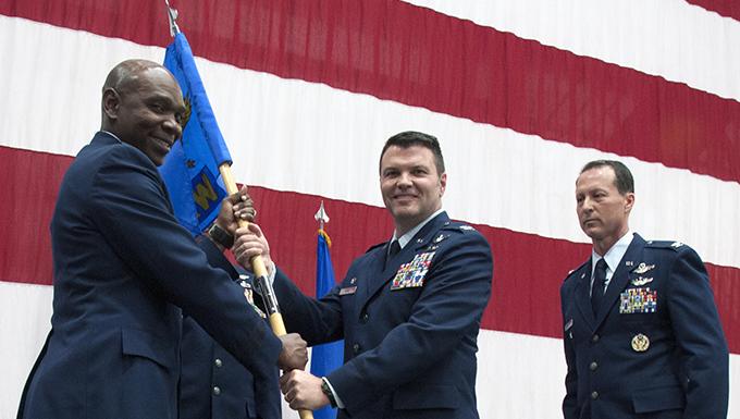 Hometown son takes rein of Reno Air Guard unit