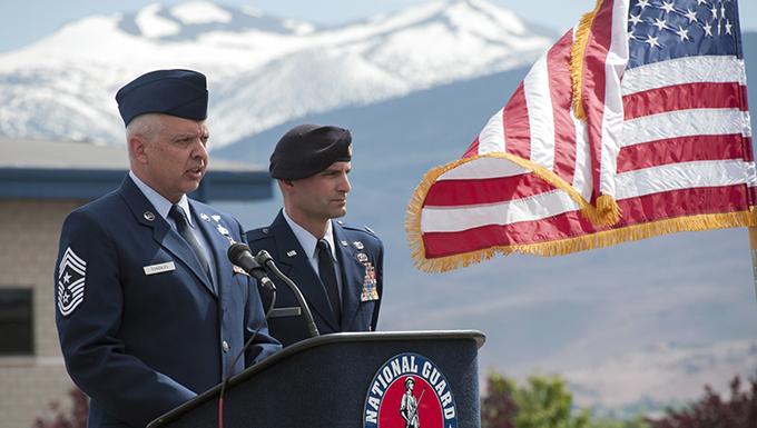 Chief Master Sgt. David Gonazles